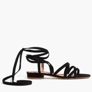 Madewell Holly Ankle-Wrap Sandals NIB